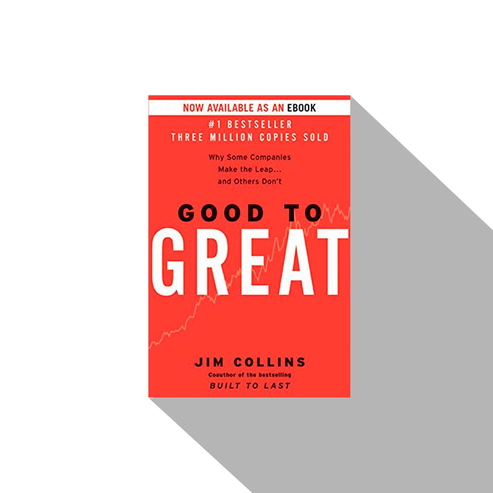 «Good to Great: Why Some Companies Make the Leap...And Others Don't» Jim Collins, Книги про бизнес, книги по бизнесу, книги для руководителей, бизнес книги