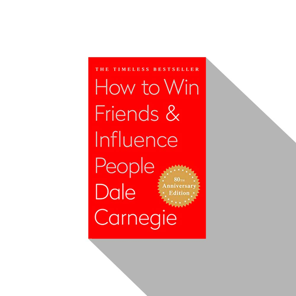 «How To Win Friends And Influence People» Dale Carnegie, Книги про бизнес, книги по бизнесу, книги для руководителей, бизнес книги,