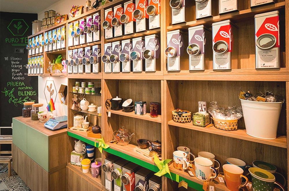 Бизнес по продаже чая, чайный бизнес, магазин продажа чая, интерьер магазина