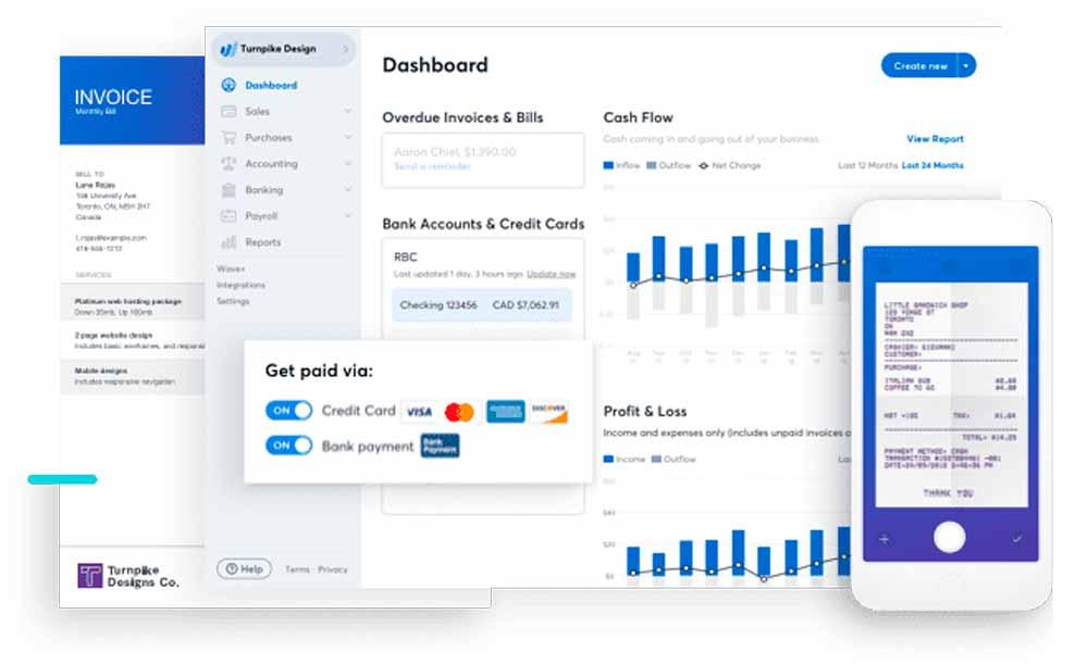 Wave Financial приложение для бухгалтерского учета, приложения для бизнеса